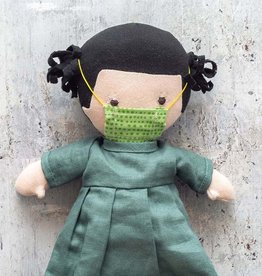 Hazel Village Doll Nell in Green Dress