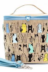 So Young Large Cooler Bag Curious Cats