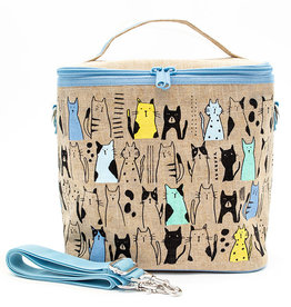 So Young Large Cooler Bag Curious Cats