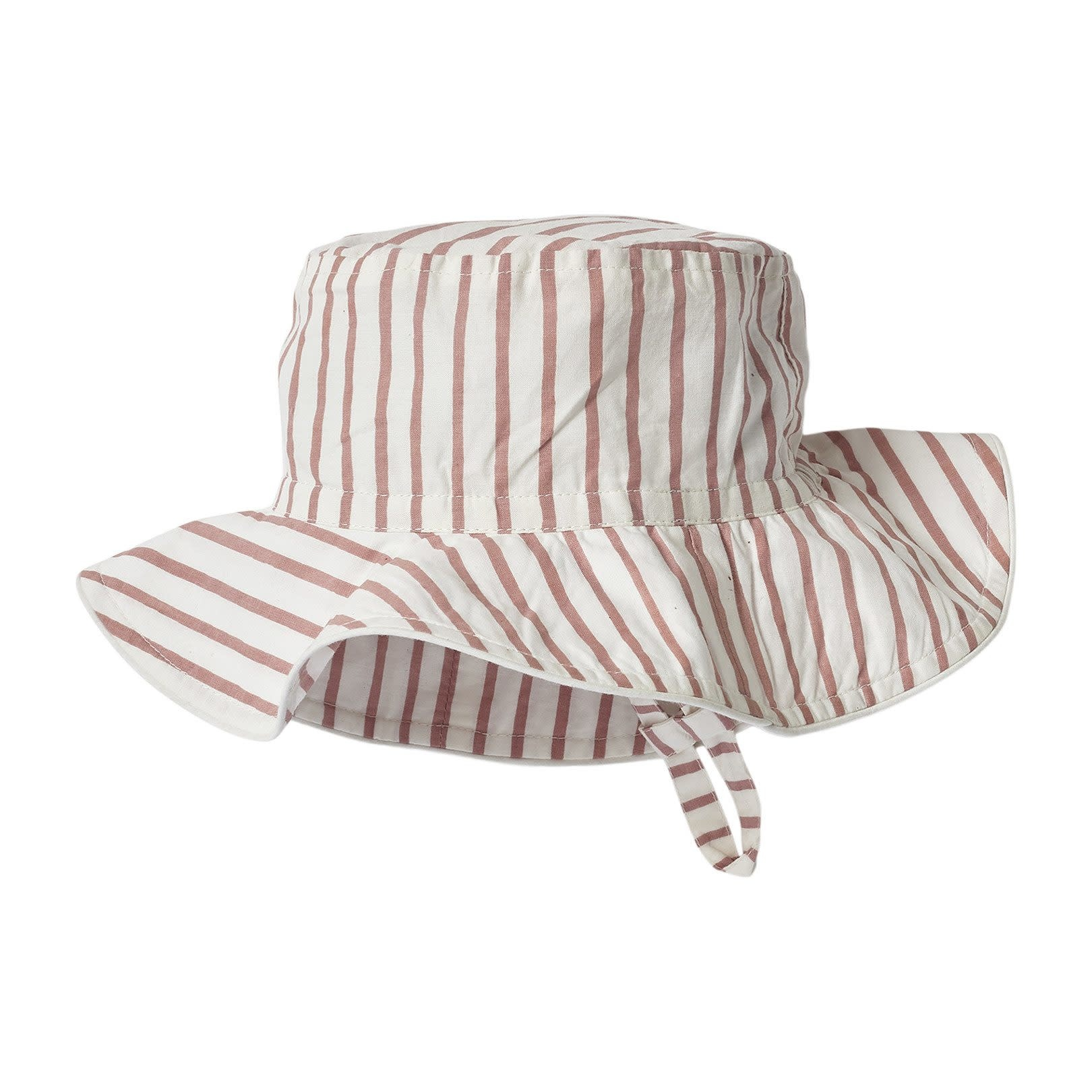 Pehr Designs Bucket Hat Stripes Away Pink