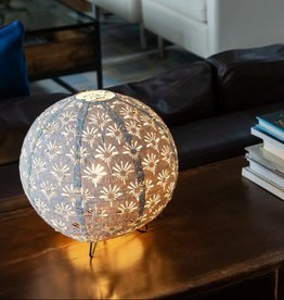 Allsop Home and Garden Stella Solace Table Lamp Globe Deco