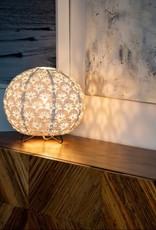 Allsop Home and Garden Stella Solace Table Lamp Globe Deco