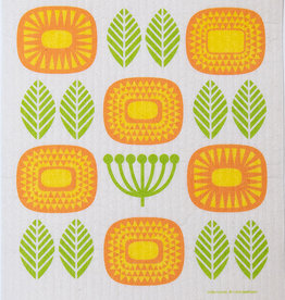 Cose Nuove Swedish Dishcloth Mid Century Blossoms