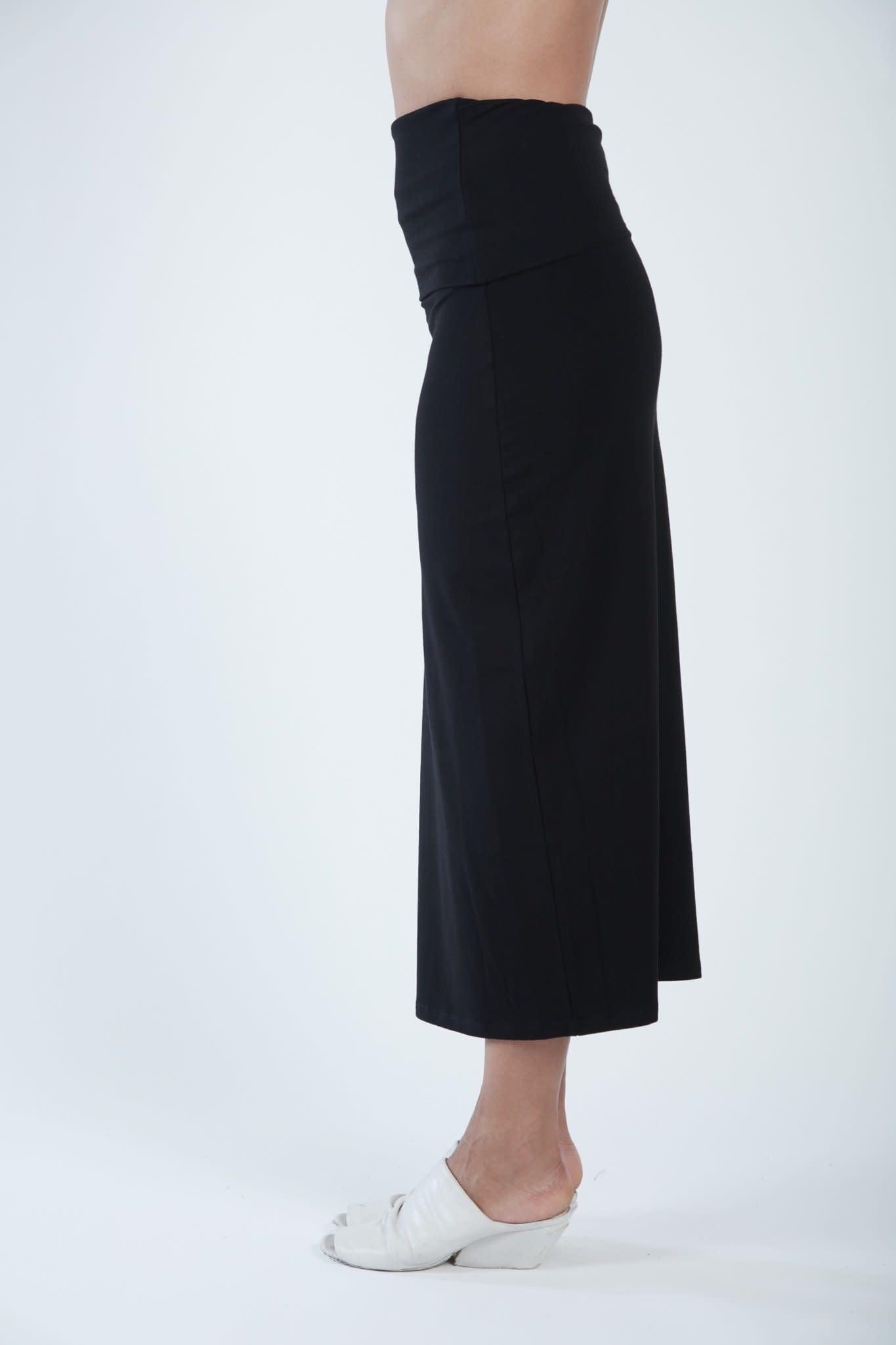 Matthildur Fitted Skirt Black