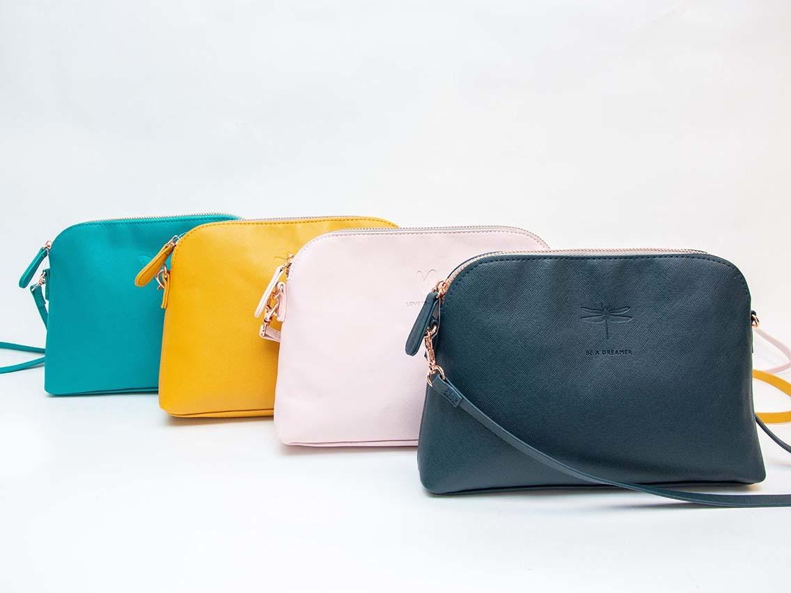 Sophie Allport Mini Shoulder Bag Hearts