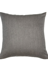 Kreatelier Nature Pillow in Cream and Grey Back 18 x 18in