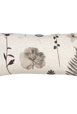 Kreatelier Nature Pillow in Cream 10 x 20in