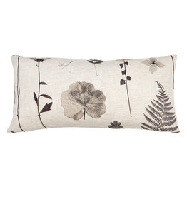 Kreatelier Nature Pillow in Cream 10 x 20in