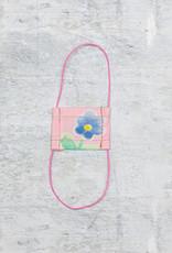 Kreatelier Face Mask for Dolls Pink Flowers