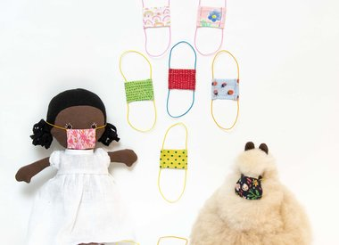 FACE MASKS FOR DOLLS AND STUFFED ANIMALS