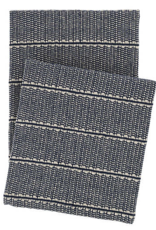 Dash & Albert Archer Woven Cotton Throw Navy