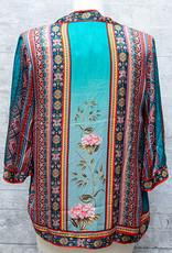 Tolani Kimono Karma Seafoam OS