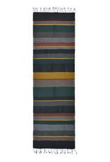 Dupatta Designs Darsie Scarf in Green, Yellow and Grey