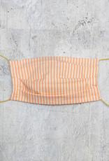 Kreatelier Face Mask Peach Stripe