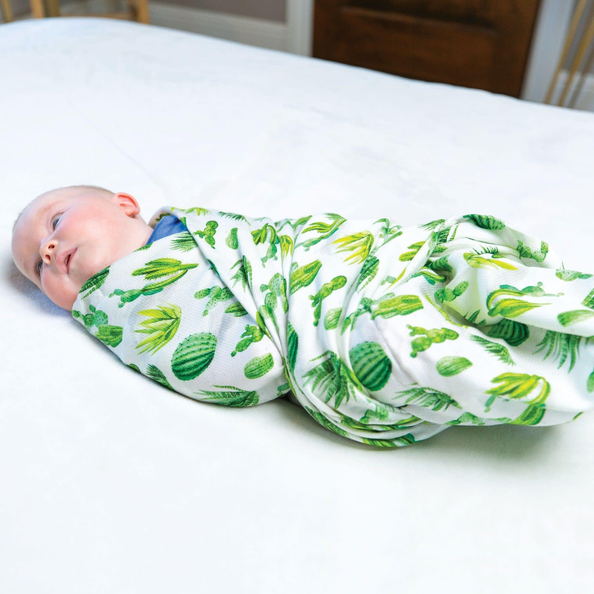 Tiny Twinkle Swaddle Blanket Cacti