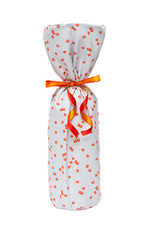 Kreatelier Bottle Gift Bag Orange Bubbles
