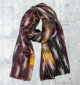Bela Monde Silk Scarf Abstract