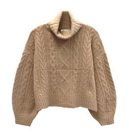 RD International Knit Sweater Irish cream