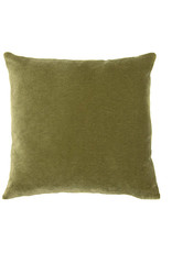 Kreatelier Velvet Pillow Olive Green 14 x 14in