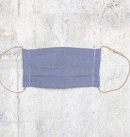 Kreatelier Face Mask Thin Stripe Blue