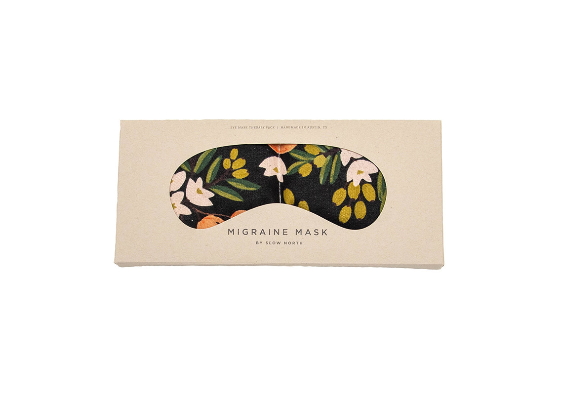 Slow North Eye Mask Therapy Pack Citrus Floral