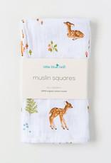 Little Blue Nest Square Cloths Fawn