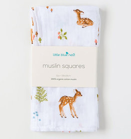 Little Blue Nest Square Cloths Fawn