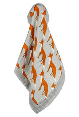 Milkbarn Bamboo Mini Lovey Orange Fox