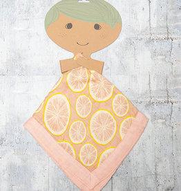 Milkbarn Mini Lovey in Grapefruit