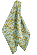 Milkbarn Bamboo Swaddle Blanket Blue Fish