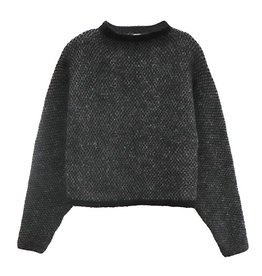 RD International Knit Sweater Grey