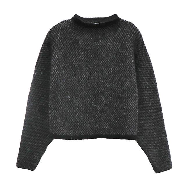 RD International Knit Sweater Grey