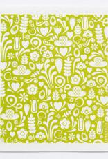 Esthetic Living Swedish Dishcloth Dala Green