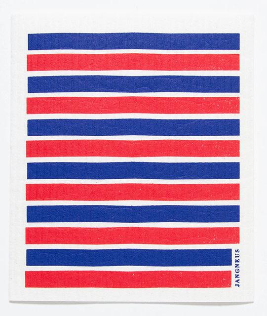 Esthetic Living Swedish Dishcloth Red/Blue Stripes