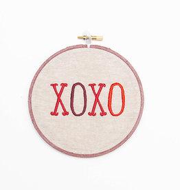 SewMuchMoreStore XOXO Hoop Red