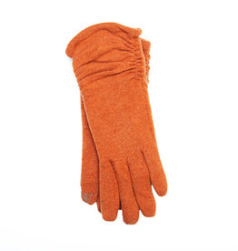 Santacana Wool and Cashmere Knitted Glove Terracota