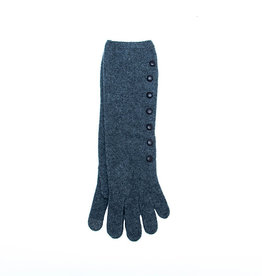 Santacana Wool and Cashmere Long Glove Grey