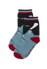 Sophie Allport Kids Statement Socks Dinosaur