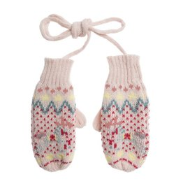 Sophie Allport Child Knitted Mittens Fairground Ponies
