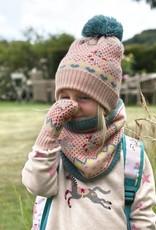 Sophie Allport Child Knitted Hat Fairground Ponies