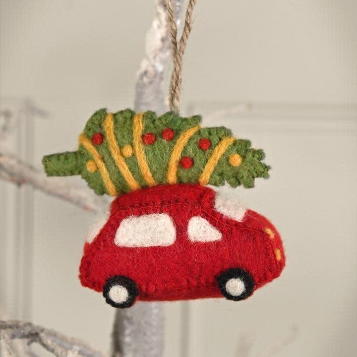 Sophie Allport Christmas Decoration Felt Home for Xmas