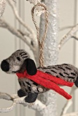 Sophie Allport Christmas Decoration Felt Dachshund