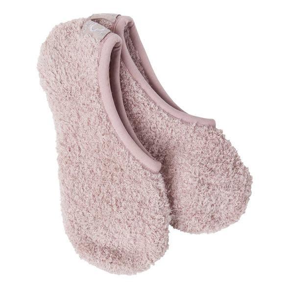 Crescent Sock Company Cozy Footsie Adobe Rose