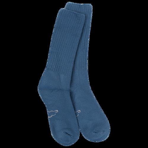 Crescent Sock Company Classic Crew Socks Denim L