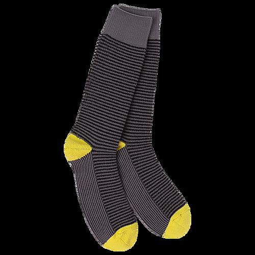Crescent Sock Company Metro Crew Socks Willow Stripe
