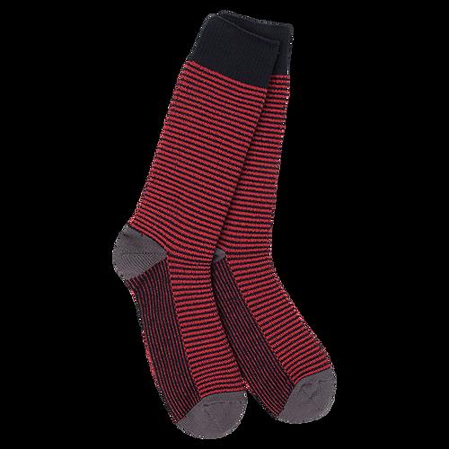 Crescent Sock Company Metro Crew Socks Freedom Stripe