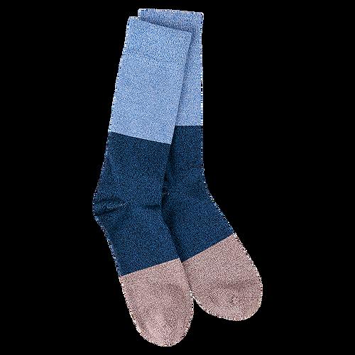 Crescent Sock Company Metro Crew Socks Colorblock Seaboard