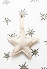 Roost Fringed Canvas Medium Star Ornament