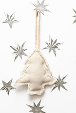Roost Fringed Canvas Tree Ornament