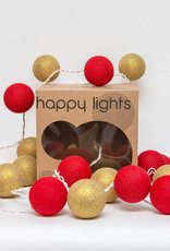 Happy Lights Happy Lights Box Gold and Red